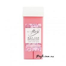 Воск в кассете ItalWax - Flex Кремовая роза (Rose oil)