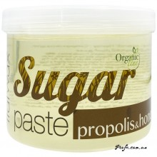 Сахарная паста для шугаринга ItalWax Organic Line Мёд и прополис, мягкая 750 г