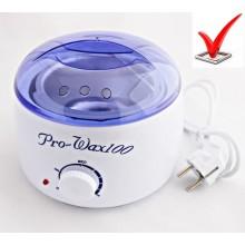 Нагреватель для горячего воска воскоплав Pro Wax 100 Белый