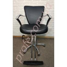 Парикмахерское кресло на гидравлической помпе ZD-317,шоколад