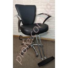 Парикмахерское кресло на гидравлической помпе ZD-317,черный