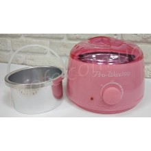 Нагреватель для горячего воска воскоплав Pro Wax 100 Розовый