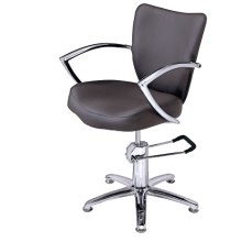 Кресло клиента PR-62, коричневое