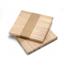 Шпатели деревянные для восковой депиляции (узкие) 50 шт.