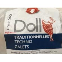 Воск горячий в таблетках Doll Xanitalia 1 кг. Шоколад